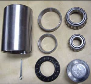 Wheel Carrier: Hub & Bearings